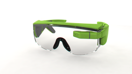 Realistic Render of the 102 Glasses
